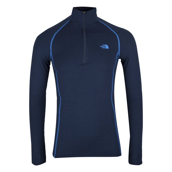The North Face Men's Warm Long Sleeve Zip Navy