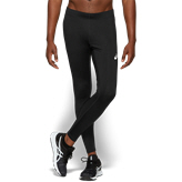 Asics Silver Mens Tight Black