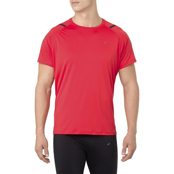 Asics Icon Men's Running T-Shirt, Red