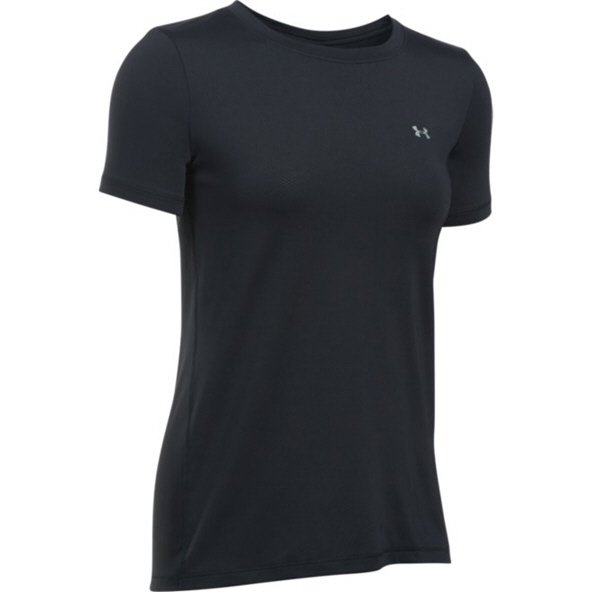Under Armour® HeatGear Women's T-Shirt, Black