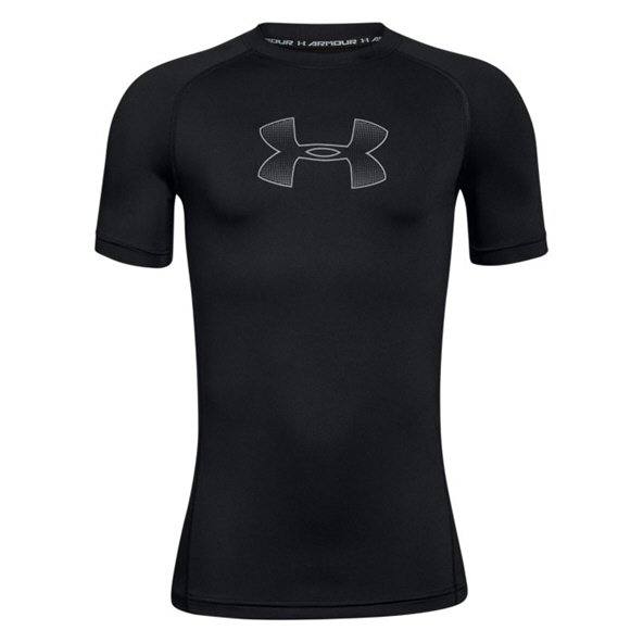 Under Armour® Boys Short Sleeve T-Shirt, Black