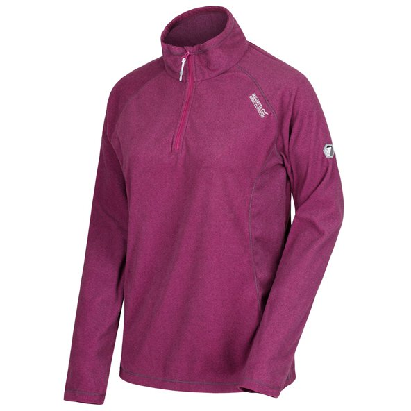 Regatta Montes Women's ¼ Zip Fleece Jacket, Purple