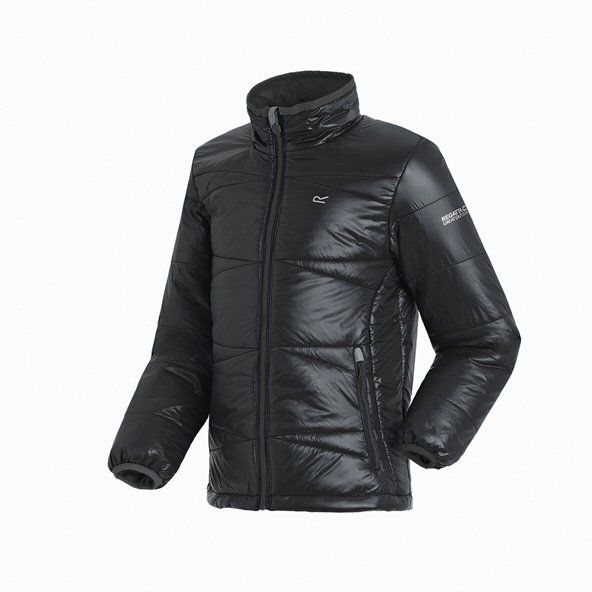 Regatta Icebound IV Boys' Jacket, Black