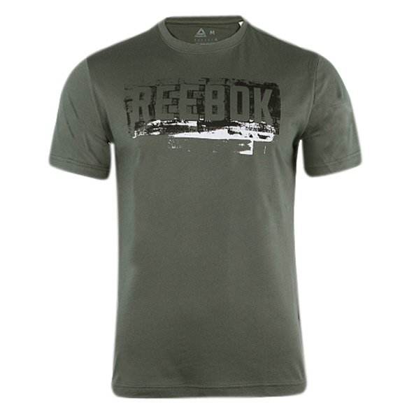 Reebok Actron Graphic Mens Tee Green