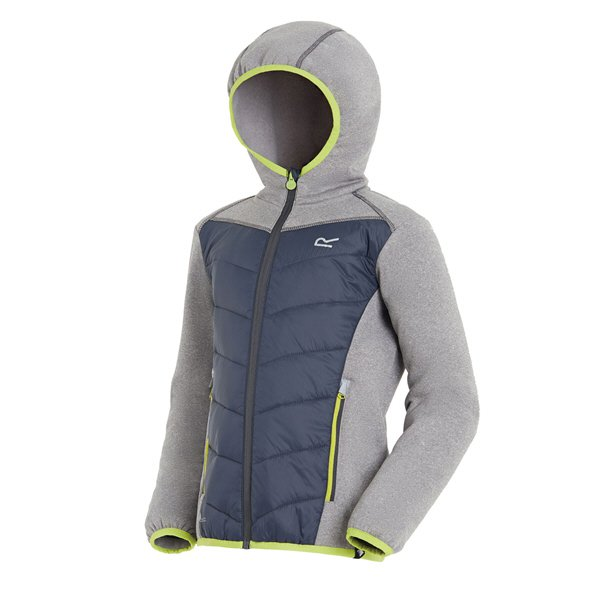 Regatta Kielder III Hybrid Boys' Jacket, Grey