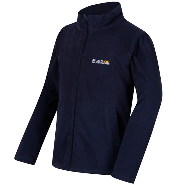 Regatta King II Boys' Fleece Jacket, Navy