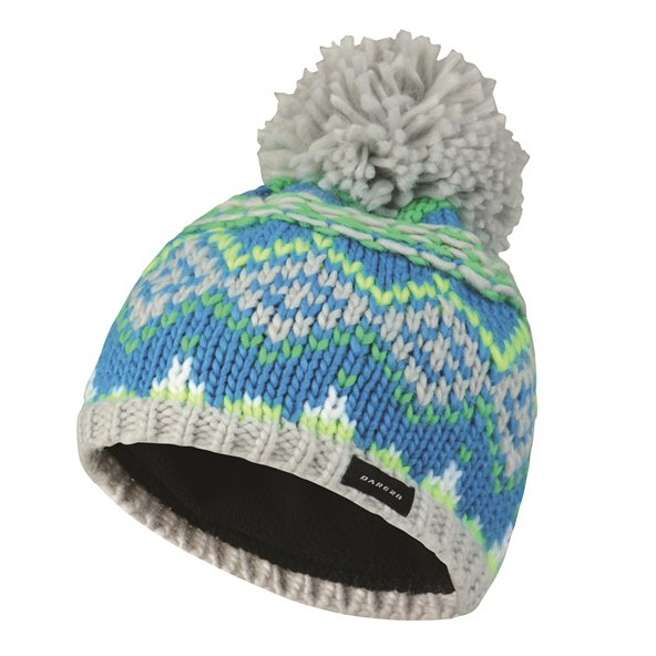 Dare2Be Badges Kids' Beanie, Blue