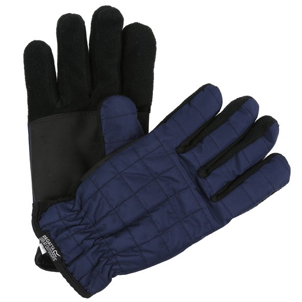 Regatta Quilted Gloves Navy