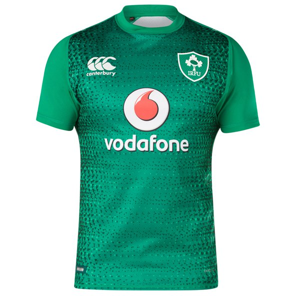 Canterbury IRFU 2018 Home Test Jersey, Green