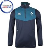 Canterbury IRFU 2018 Kids' ThermoReg ¼ Zip Top, Navy