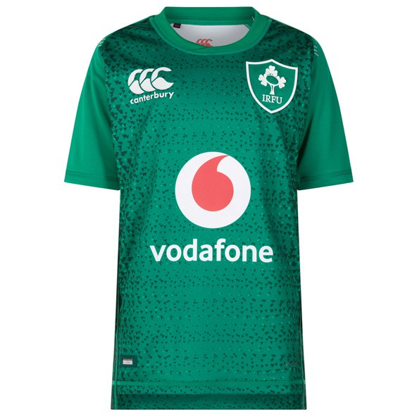 Canterbury IRFU 2018 Kids' Home Pro Jersey, Green