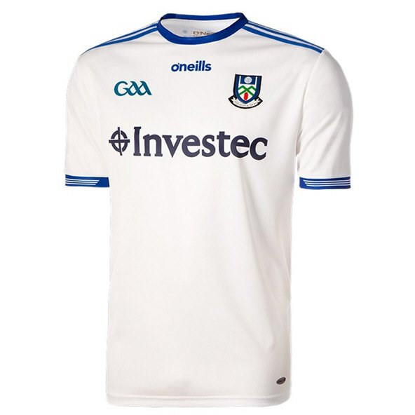 O'Neils Monaghan 2018 Kids' Home Jersey, White