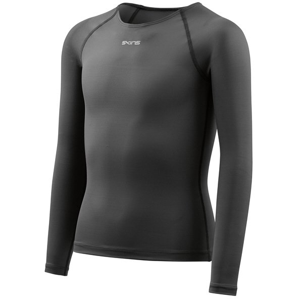 Skins™ DNAmic Force Kids' Long Sleeve Top Black