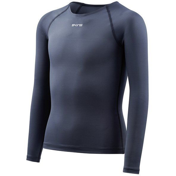 Skins™ DNAmic Force Kids' Long Sleeve Top Navy
