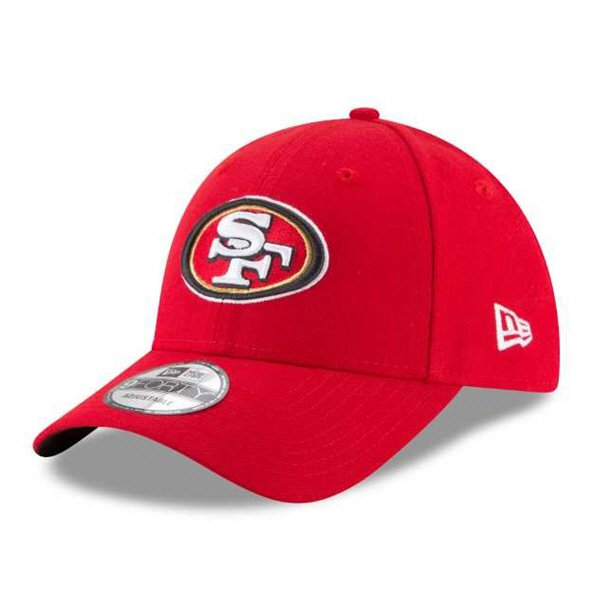 outlet store 9464e 11f42 NewEra 9Forty San Francisco 49ers Cap, Red