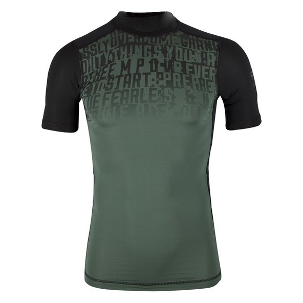 Reebok Graphic Compression Men's Top Green