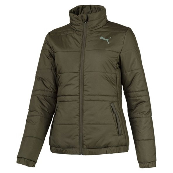 Puma Essential Padded Jacket Women's, Green