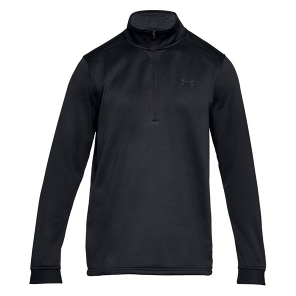 UA® Armour Fleece ½ Zip Men's Top, Black