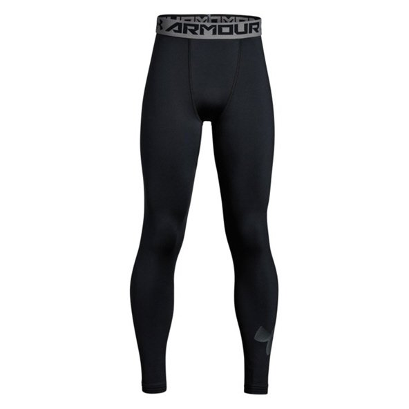 Under Armour® ColdGear® Boys' Legging, Black