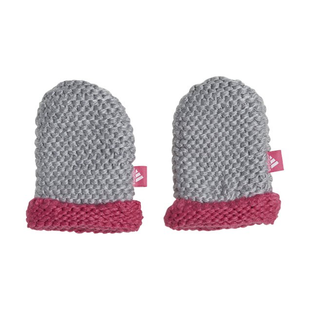 adidas Infant Mittens, Grey