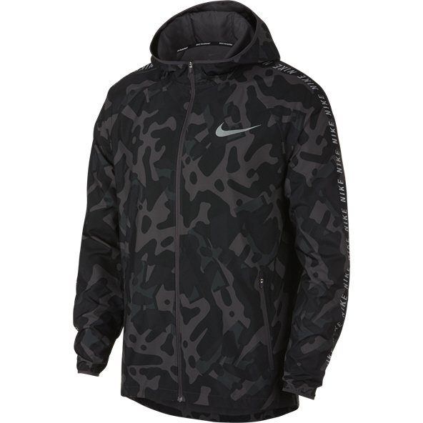 Nike Essential Flash Men's Jacket  Black/Grey