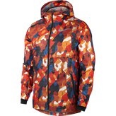 Nike Shield Ghost Flash Camo Men's Jacket, Red