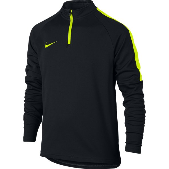 Nike Dry Academy Drill Boy 1/2 Zip Top Black/VL