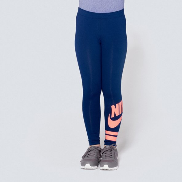 Nike Swoosh Favorite Girls' Tight, Navy