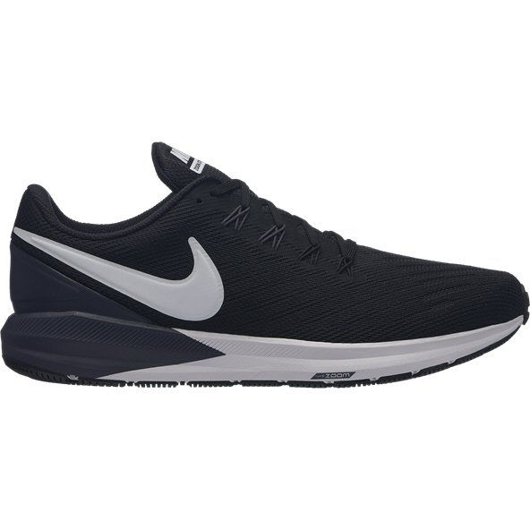 Nike Air Zoom Structure 22 Men's Running Shoe, Black