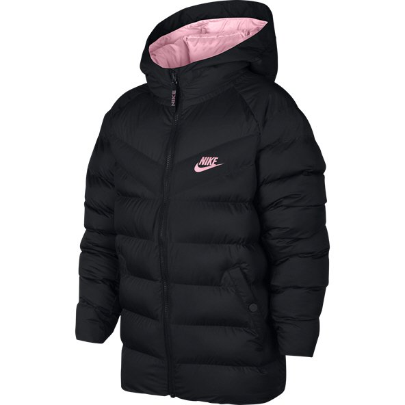 Nike Swoosh Filled Girl FZ Jacket Blk/Pn