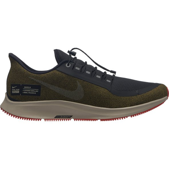Nike Air Zoom Pegasus 35 Shield Men's Running Shoe, Green