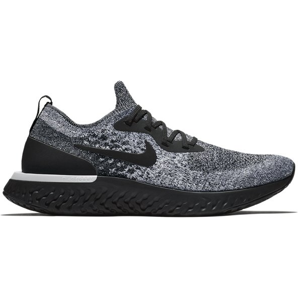 Nike Epic React Flyknit Men's Running Shoe, Black