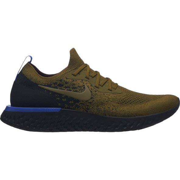 Nike Epic React Flyknit Men's Running Shoe, Green