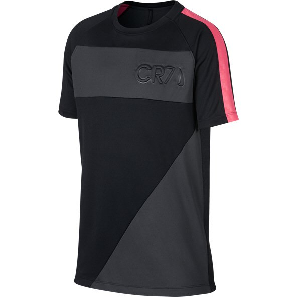 Nike CR7 Dry Academy Boys' T-Shirt, Black
