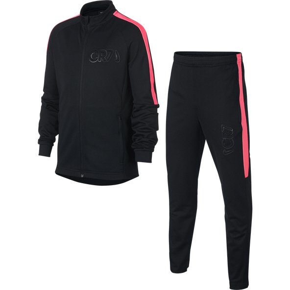 Nike CR7 Dry Boys Track Suit Black