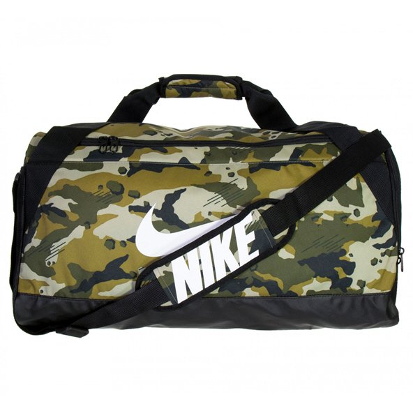 Nike Brasilla Duffel - Medium, Olive/Black