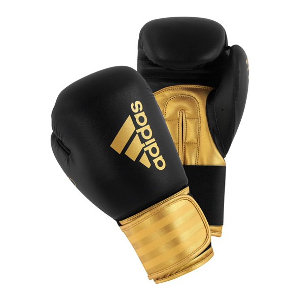 adidas Hybrid 100 Boxing Glove - 14oz, Black
