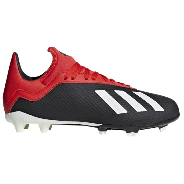 adidas X 18.3 FG Kids' Football Boot, Black