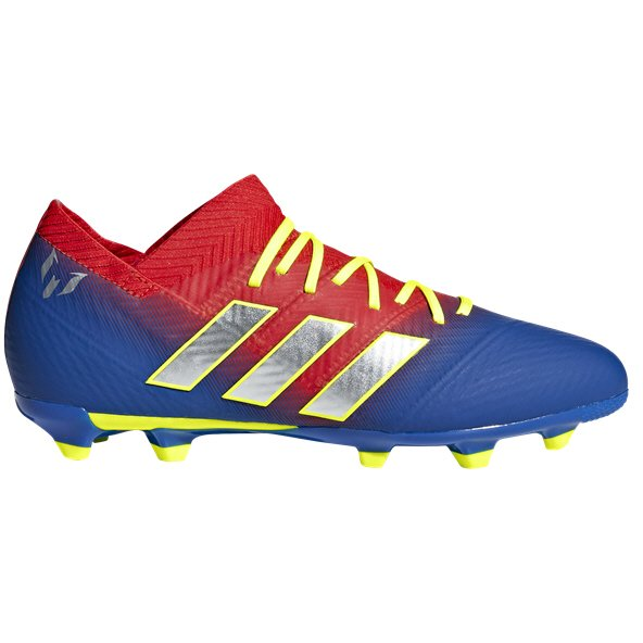 adidas Nemeziz Messi 18.1 FG Kids' Football Boot, Blue