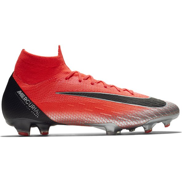 Nike Mercurial Superfly 6 Elite FG CR7 Football Boot, Red