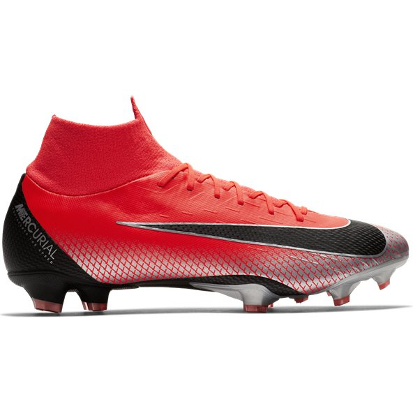 Nike Mercurial Superfly 6 Pro FG CR7 Football Boot, Red