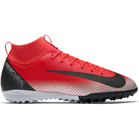 Nike Mercurial Superfly 6 Academy Kids' CR7 Astro Boot, Red