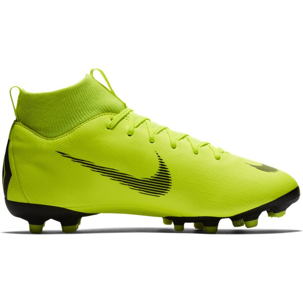 Nike Mercurial Superfly 6 Academy FG Kids' Football Boot, Volt