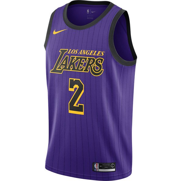 Nike LA Lakers Jersey - Ball 2 (City Edition) 304eef5d0