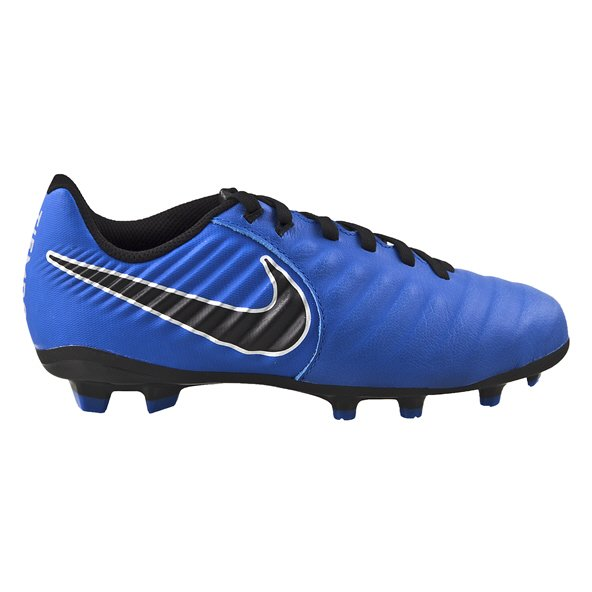 Nike Legend Academy Firm Ground Kids' Football Boot, Blue