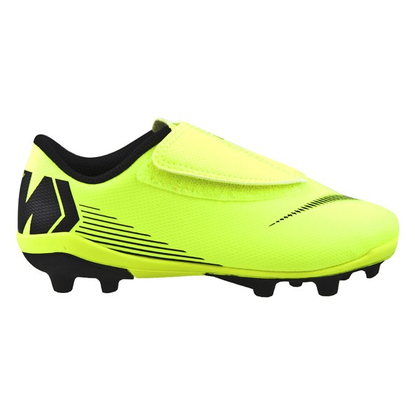 Nike Mercurial Vapor Club Junior Kids' Football Boot, Volt