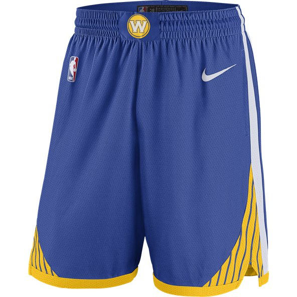Nike Golden State Warriors 2018 Basketball Short, Blue