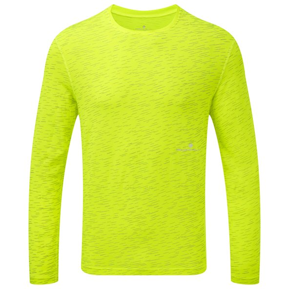 Ronhill Momentum Long Sleeve Men's T-Shirt  Yellow