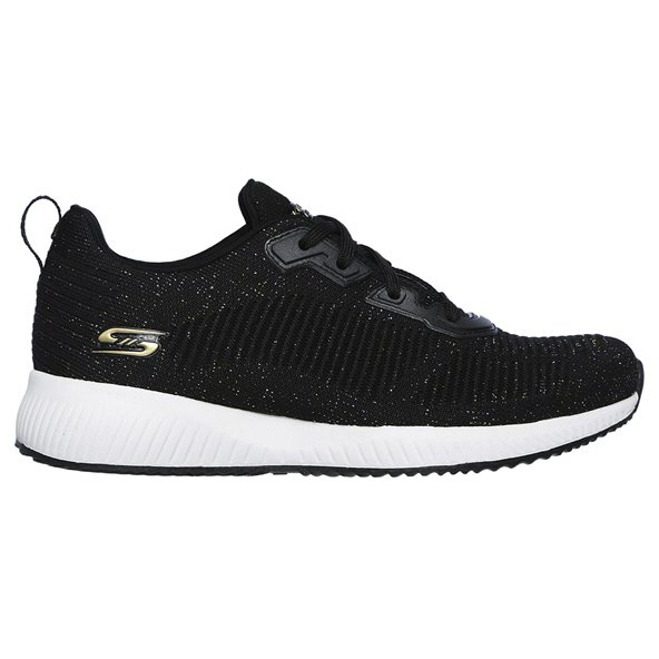 Skechers Bobs Total Glam Women's Shoe Black/White