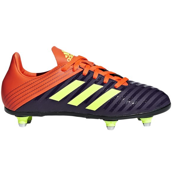 adidas Malice SG Kids' Rugby Boot, Orange